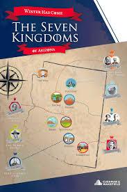 7 Kingdoms Map Winter Has Come In Arizona U0027s Seven Kingdoms Cushman U0026 Wakefield Blog