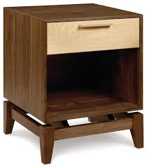 copeland soho 1 drawer midcentury nightstands and bedside