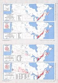 Canada Map by Canadian Population Between 1851 1921 Demography Canada Map