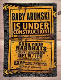 construction baby shower construction baby shower invitation construction invitation