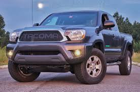toyota tacoma blacked out grill of the week blog page