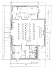Floor Plan Of A Bakery by Our Restoration Plan Fort Ward Community Hall