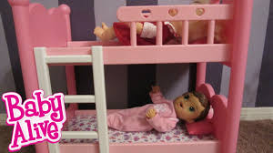 Baby Bunk Bed Baby Alive Bunk Beds From You Me Great For Baby Alive Dolls