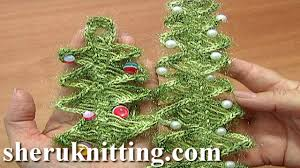 hairpin lace crochet christmas tree ornament tutorial 4 part 1 of