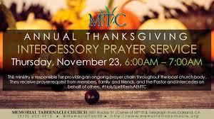 thanksgiving prayer hour faith in the bay