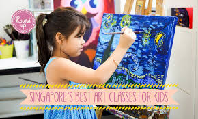 the best art classes for kids in singapore get crafty