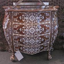 Bombay Home Decor Moroccan U0026 Syrian Furniture Syrian Chest With French Design