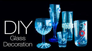 Wine Glass Decorating Ideas 5 Diy Glass Decoration Ideas Easy And Quick Decorate Your Glass