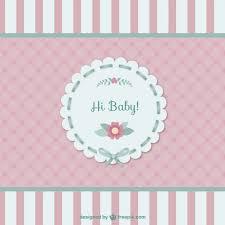 baby card baby card vector free
