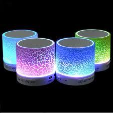 led light bluetooth speaker new mini portable wireless s10 bluetooth speaker with led light mic