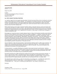 cover letter sample for teaching image collections cover letter