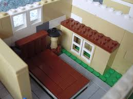 lego house domestic mamma the bedroom with cool lamps a rug and a wardrobe i personally love the headboard to the bed