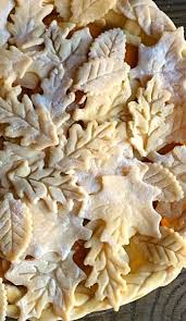 gorgeous leafy pie crust this pie for a beautiful autumn