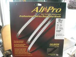 14 Band Saw Review Fine Woodworking by Review Olson All Pro Bandsaw Blade By Pintodeluxe Lumberjocks