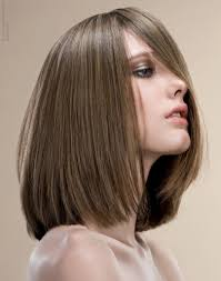 a line long bob haircut how to cut womens hair dramatic bob