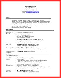 barista cover letter good resume format