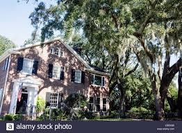 Colonial Revival Jacksonville Florida Avondale Historic Neighborhood House Home Red