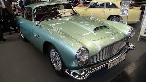green aston martin convertible 1961 aston martin db4 serie iii classic expo salzburg 2016 youtube