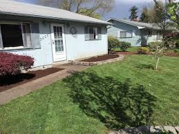 before and after residential landscape cleanup in eugene oregon residential client 2 eugene oregon landscape design 8