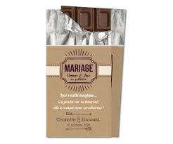 chocolat mariage faire part mariage tablette chocolat planet cards