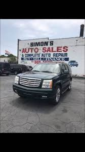 2002 cadillac escalade for sale 2002 cadillac escalade in detroit mi simon s auto sales
