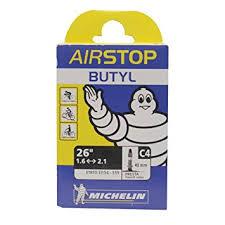 chambre à air butyl michelin chambre à air c4 airstop 37 62x559 st 34 mm amazon fr