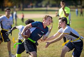 Intramural Flag Football Flag Football Touches Down In Brooklyn The New York Times