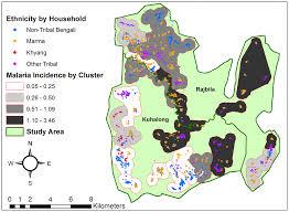 Cdc Malaria Map Malaria Hotspots