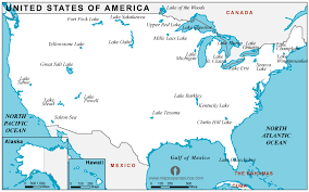 map usa map free usa lakes map lakes map of usa lakes usa map united