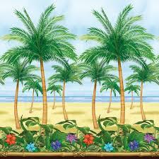 Tropical Party Themes - crea un ambiente tropical con este póster gigante de www