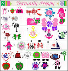 preppy decals decals they are everywhere nautical sport professional and