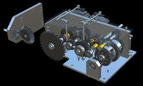 rc tank gearbox cg transmission by iliya cerjak
