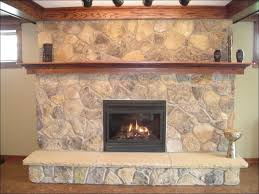 interiors fabulous painted stone fireplace fireplace with stone