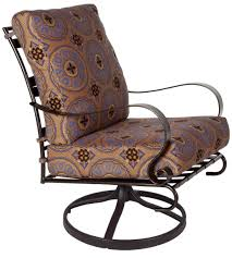 furniture nice cast iron swivel rocker chair design with
