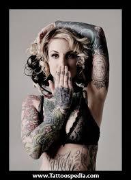 tattooed female models buscar con google tattoed people