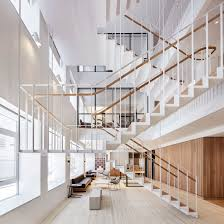 office stairs design staircase architecture and design dezeen