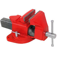 urrea 6 in bench vise 425 the home depot