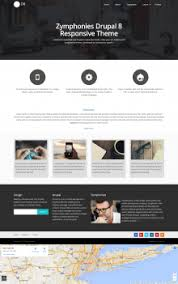 top 5 best drupal 8 themes free for 2017 glonius