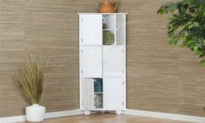 furniture corner storage cabinet prepac elite cabinets