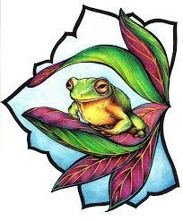 frog design by mijazaszka on deviantart