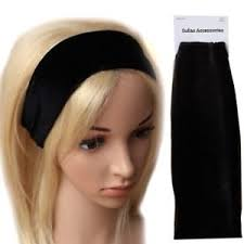 fabric headband black wide velvet stretch fabric headband hair band running