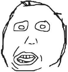Dumb Face Meme - page 4 of comments at puns