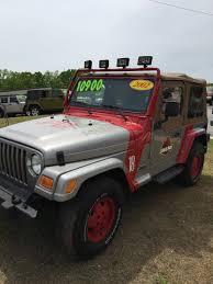 old jeep wrangler 1980 jurassic park wrangler jeep