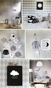 chambre enfant noir et blanc chambre chambre bébé noir et blanc valet de chambre design bebe