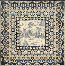 Ideas For Toile Quilt Design The Blue Toile Quilt Years Ago I Bought A Blue Toile