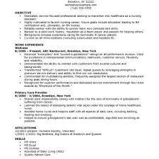 Nurse Manager Resume Cover Letter Nursing Resume Objectives Examples Nursing Resume
