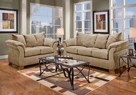 Aruba Camel Sofa Sleeper  Loveseat Badcock Home Furniture - Badcock furniture living room set
