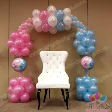 Balloon Decoration For Baby Shower Baby Shower Balloons Decorations Ideas 36 Cute Balloon Dcor Ideas