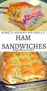 how to say happy thanksgiving in hawaiian king u0027s hawaiian roll ham sandwiches