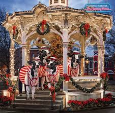 the medina gazebo featured in the fil a calendar for the